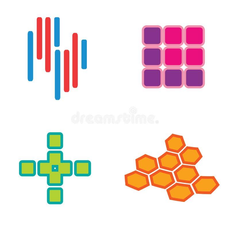 установленные логосы бесплатная иллюстрация