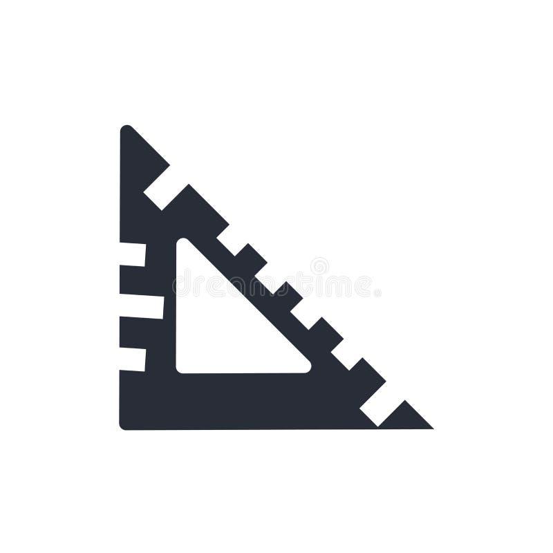 Установленный квадратный знак и символ вектора значка изолированные на белой предпосылке, установили квадратную концепцию логотип иллюстрация вектора