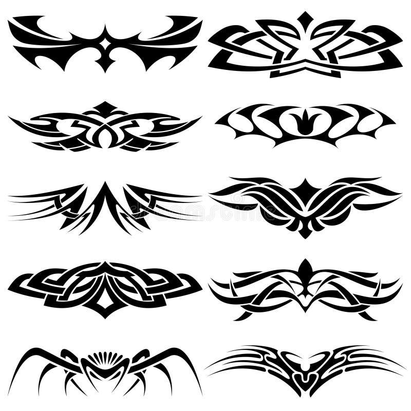 установленный tattoo part4 соплеменный бесплатная иллюстрация
