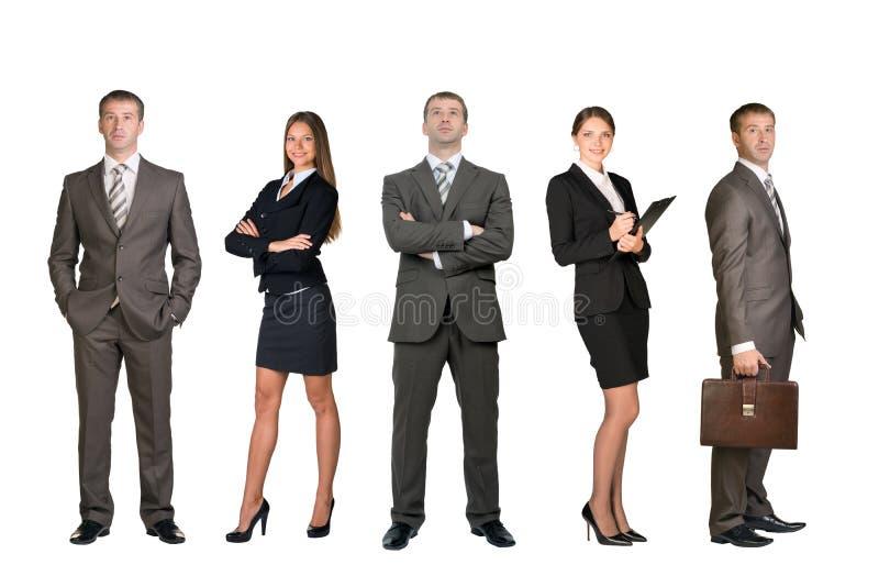 установленные бизнесмены стоковое фото rf