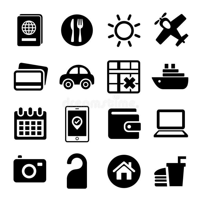 Установленные значки перемещения. бесплатная иллюстрация