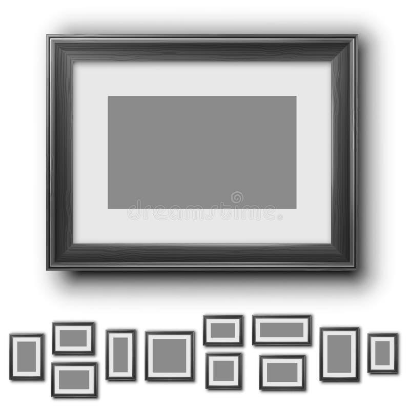установленные рамки иллюстрация штока