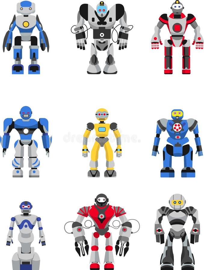 установленные роботы бесплатная иллюстрация