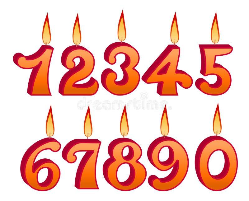 Download Установленные свечи дня рождения Иллюстрация вектора - иллюстрации насчитывающей поздравление, birmingham: 33733797