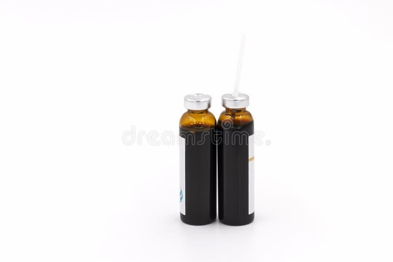 Устная жидкостная медицина стоковые фото
