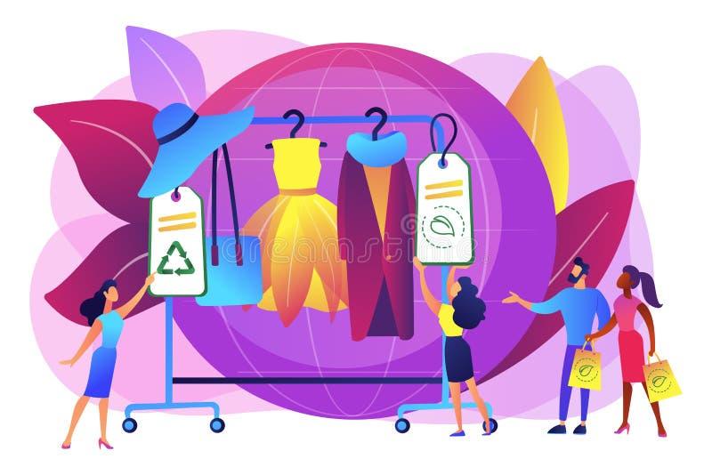Устойчивая иллюстрация вектора концепции моды иллюстрация штока