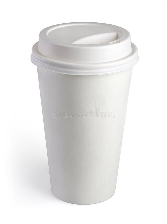 Устранимая кофейная чашка стоковое изображение