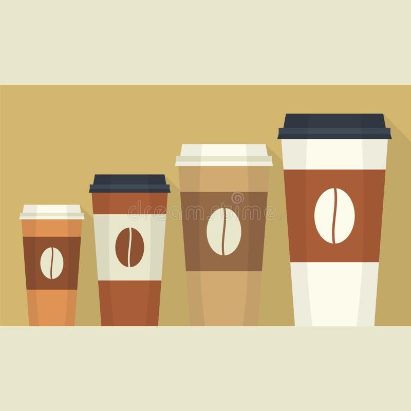 Устранимая кофейная чашка бесплатная иллюстрация