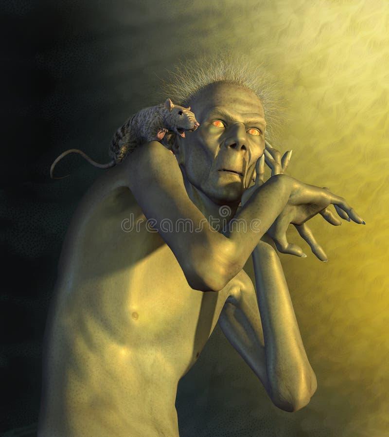 устрашенные мутанты бесплатная иллюстрация
