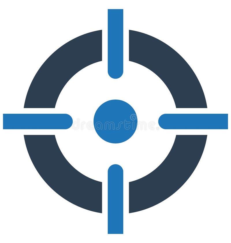 Устремленности, цель бизнеса изолированный значок вектора могут быть легко редактируют и дорабатывают устремленности, цель бизнес иллюстрация штока