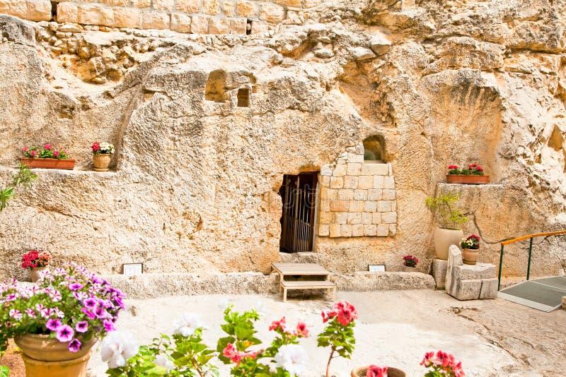 Усыпальница сада в Иерусалиме, Израиле стоковое изображение
