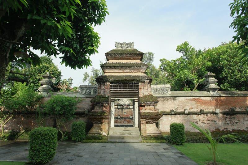 Усыпальница строба короля Mataram Kotagede Yogyakarta стоковые фото