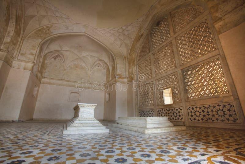 усыпальница akbar форта большая sikandar стоковое фото rf