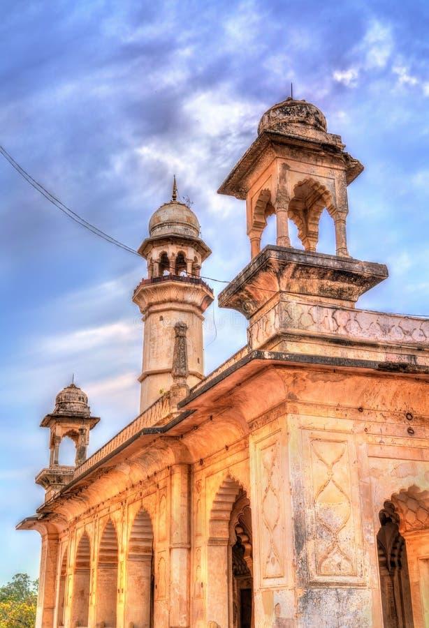 Усыпальница Maqbara Ka Bibi, также известная как мини Тадж-Махал Aurangabad, Индия стоковое изображение rf