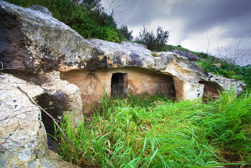 усыпальница prehistorich стоковое фото rf