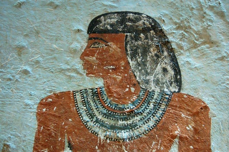 усыпальница sarenput портрета ii стоковые изображения rf