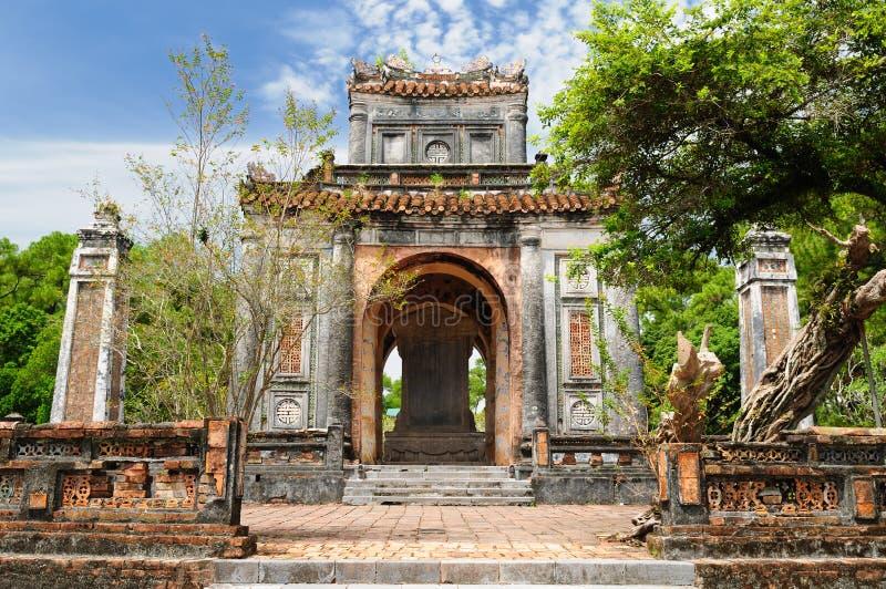 усыпальница tu Вьетнам duc стоковая фотография rf