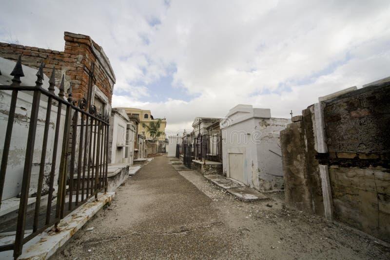 усыпальницы 1 st louis New Orleans стоковые изображения