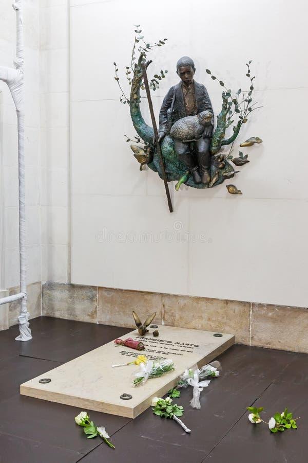 Усыпальница Франсиско Marto стоковая фотография rf
