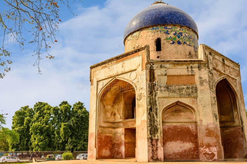 Усыпальница Humayun в New Delhi стоковые фотографии rf