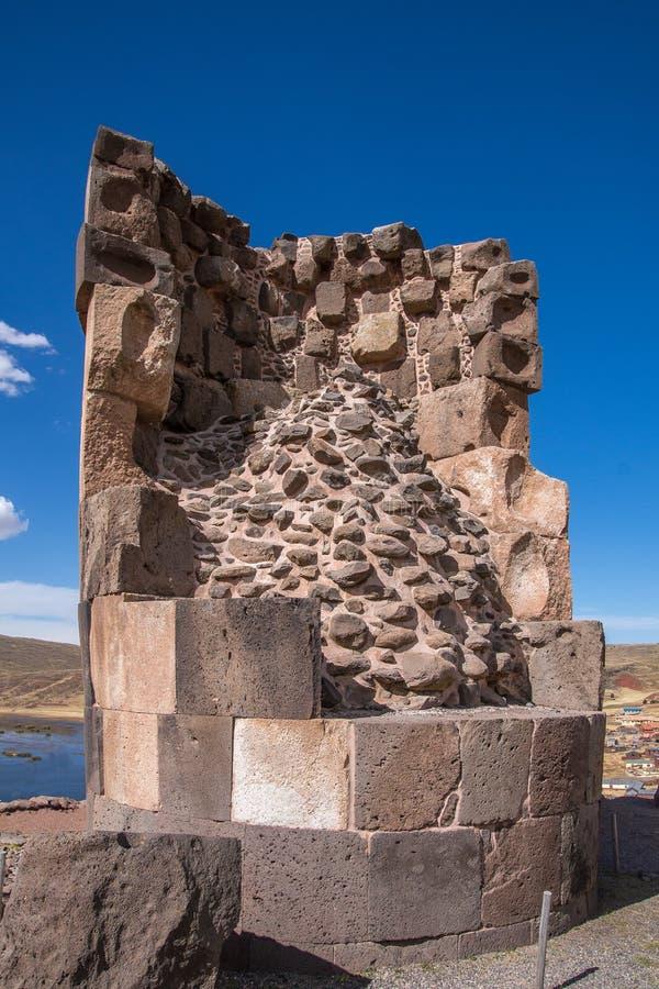 Усыпальница Inca стоковое изображение