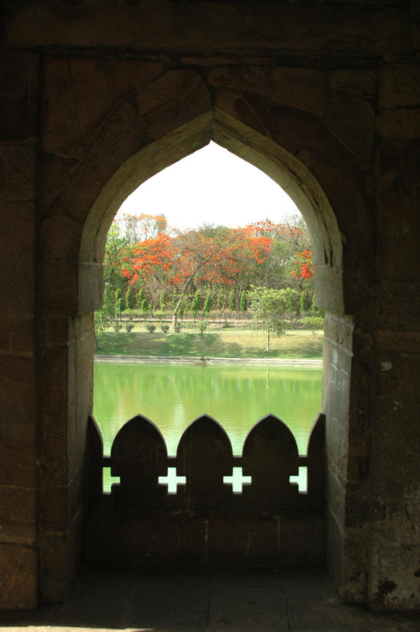 Усыпальница Sher Shah Suri стоковое изображение