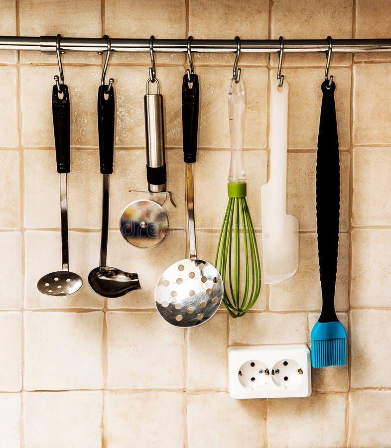 утвари поддержки кухни формы утки славные стоковое изображение