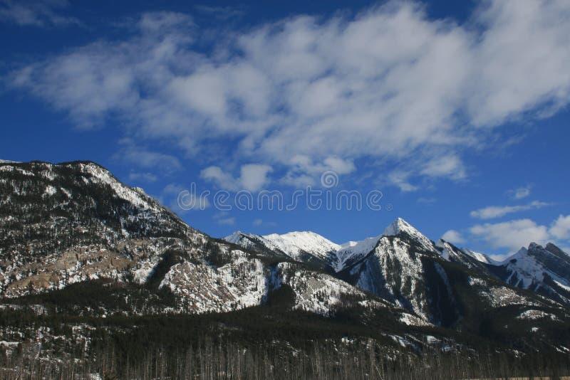 Утесистые горы, Канада стоковые фото