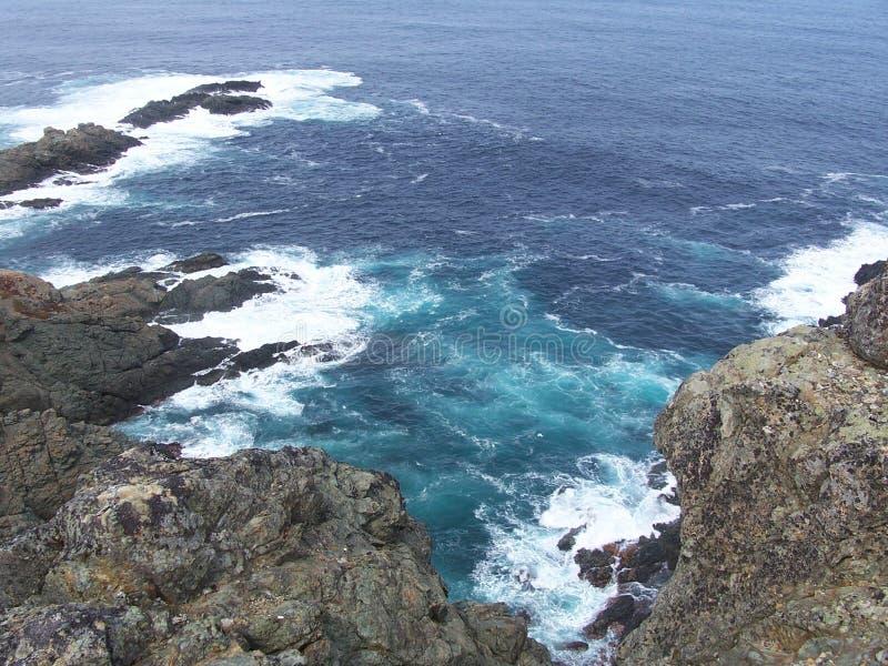 утесистый берег стоковое изображение