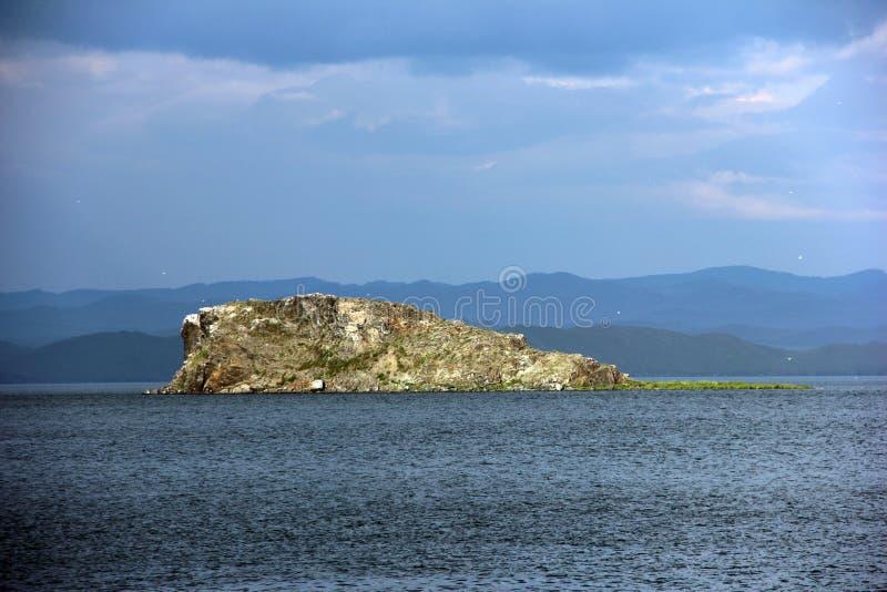 Утесистый остров стоковое фото