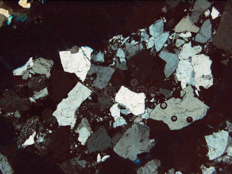 Утесы и минералы текстуры предпосылки стоковое изображение rf