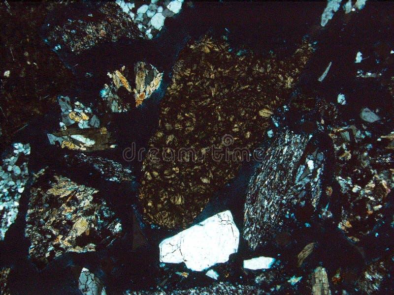 Утесы и минералы текстуры предпосылки стоковые фото