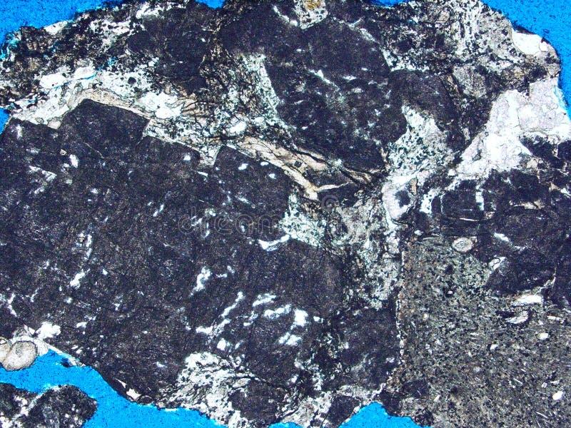 Утесы и минералы текстуры предпосылки стоковая фотография rf