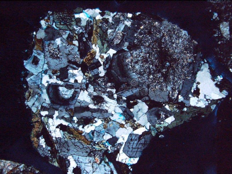 Утесы и минералы текстуры предпосылки стоковое изображение
