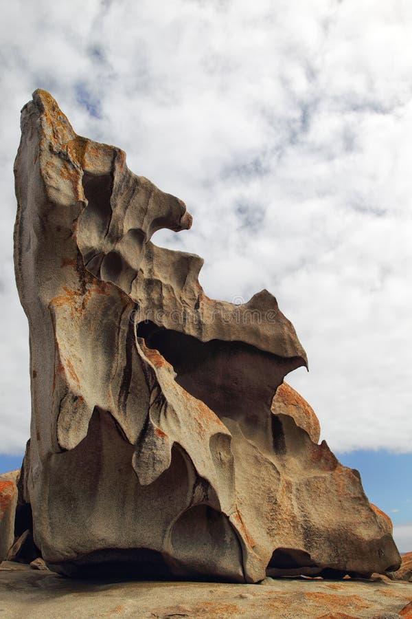 утесы кенгуруа острова замечательные стоковое изображение