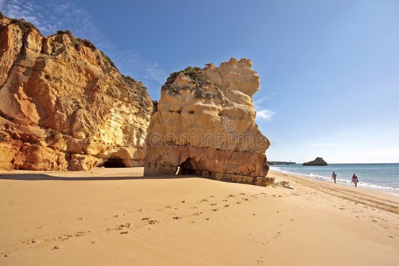 утесы Португалии океана стоковые фотографии rf