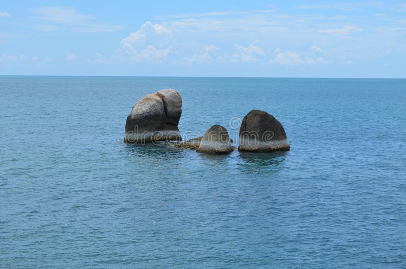 Утесы ans Ozean стоковое фото
