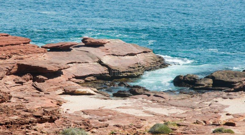 Утес гриба: Kalbarri, западная Австралия стоковые изображения rf
