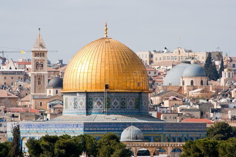 Download утес Иерусалима купола стоковое изображение. изображение насчитывающей старо - 18383661