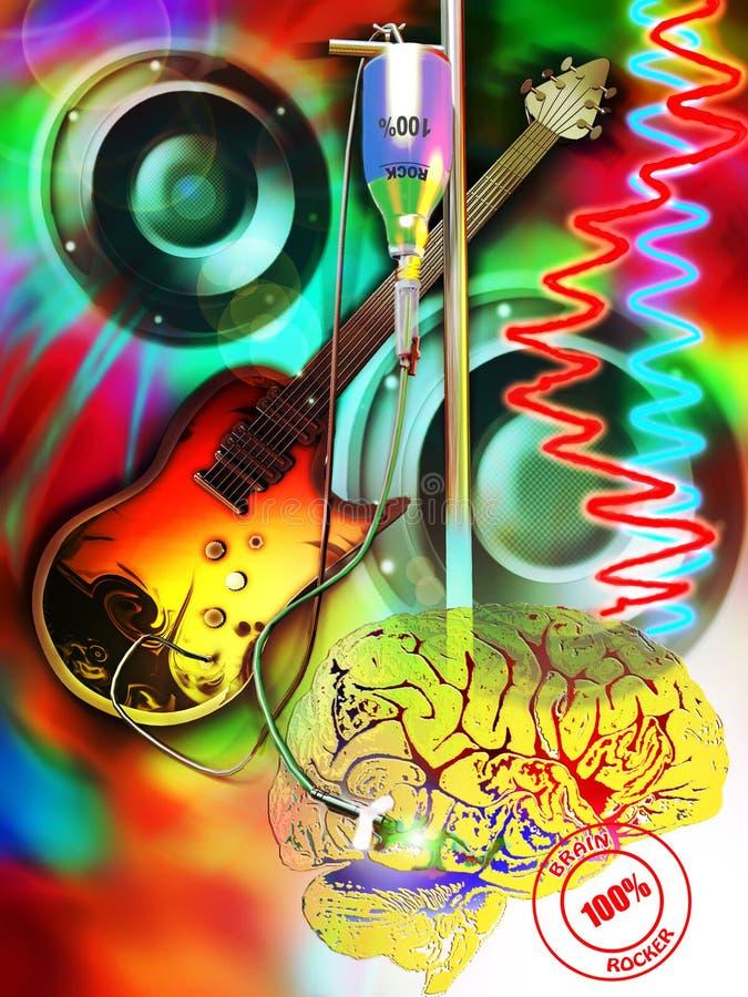утес мозга бесплатная иллюстрация