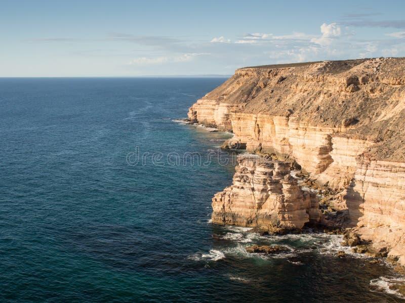 Утес острова, национальный парк Kalbarri, западная Австралия стоковое изображение rf
