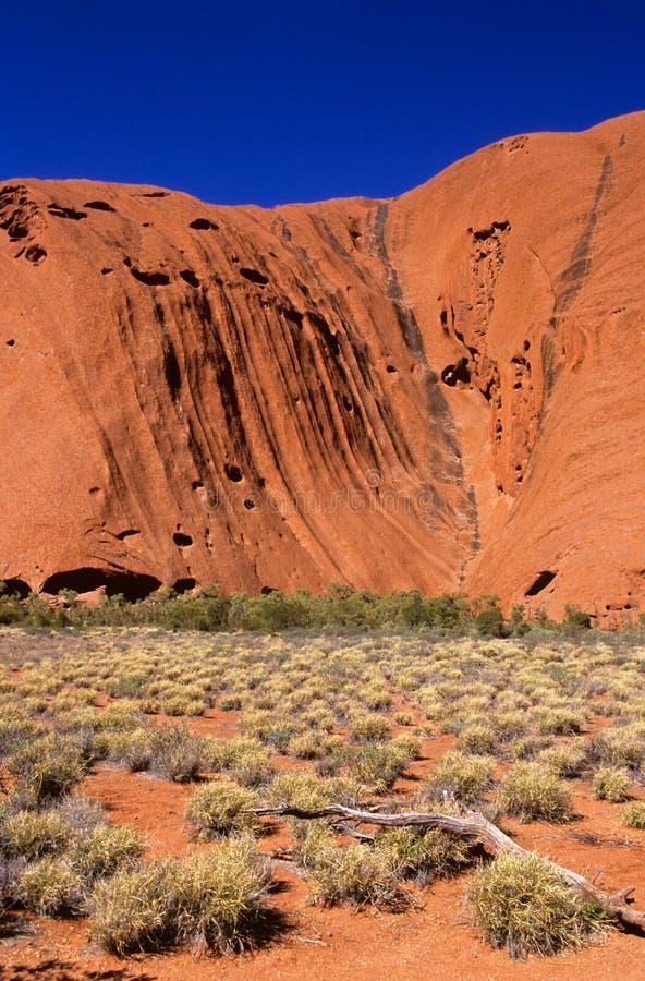 утес централи ayers Австралии стоковое фото