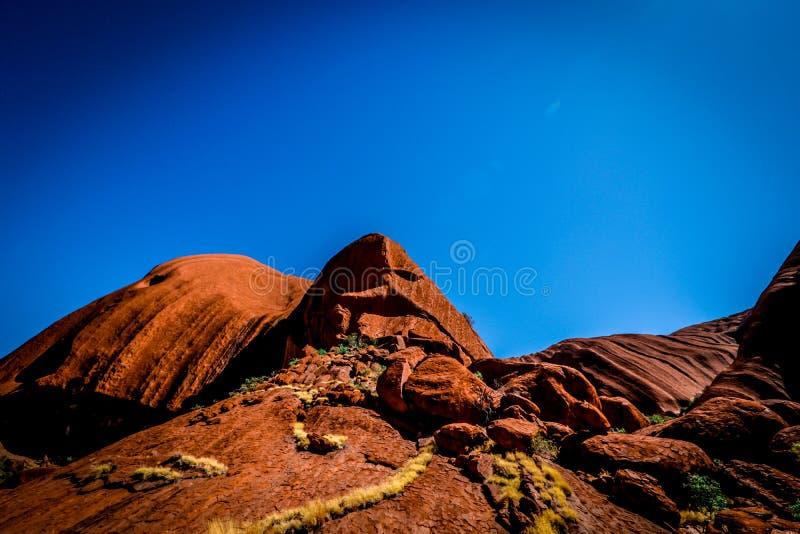 Утес Uluru - Ayers стоковые фотографии rf