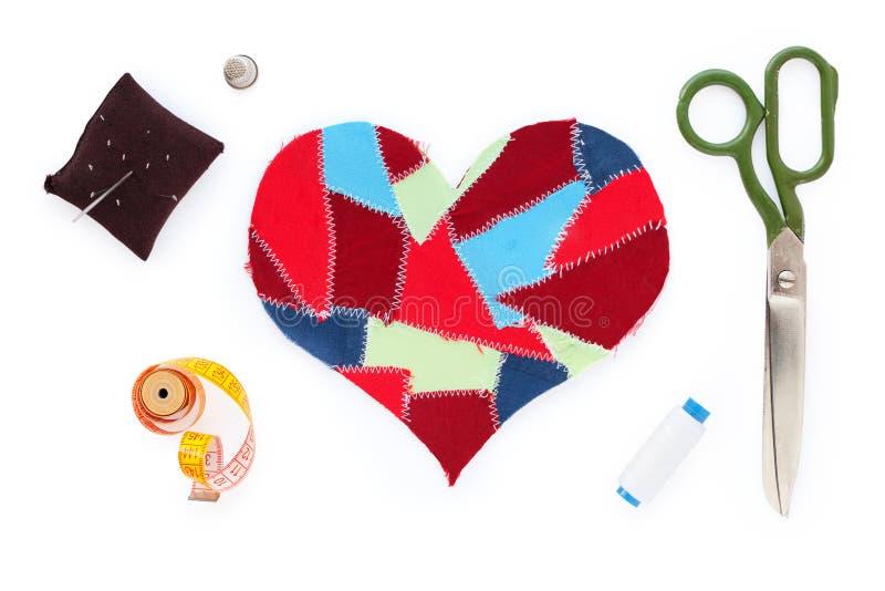 Download утили сердца ткани стоковое изображение. изображение насчитывающей нарисовано - 18379671