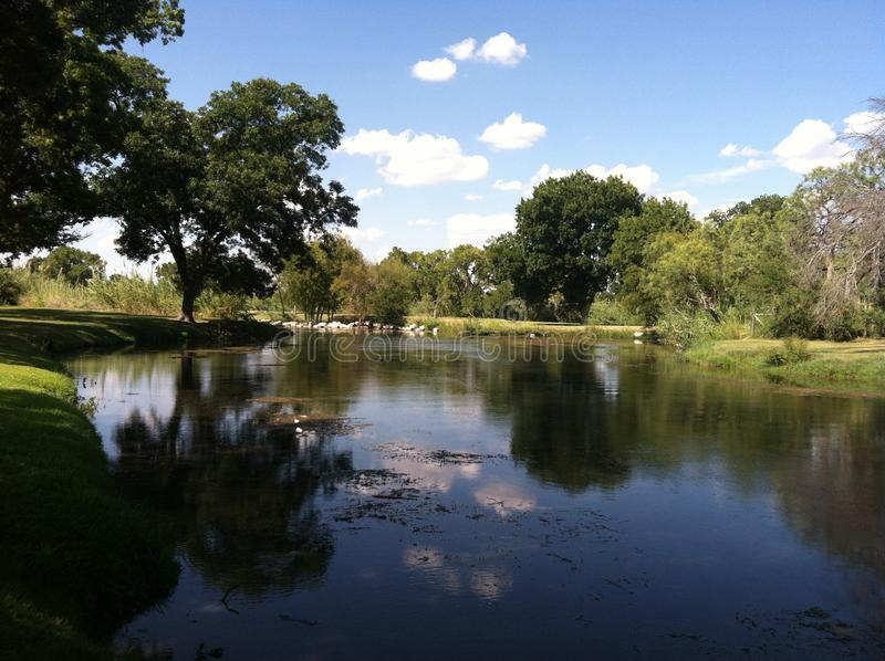 Утихомиривая Creekview стоковое фото rf