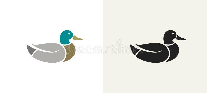 Утка и Drake также вектор иллюстрации притяжки corel бесплатная иллюстрация