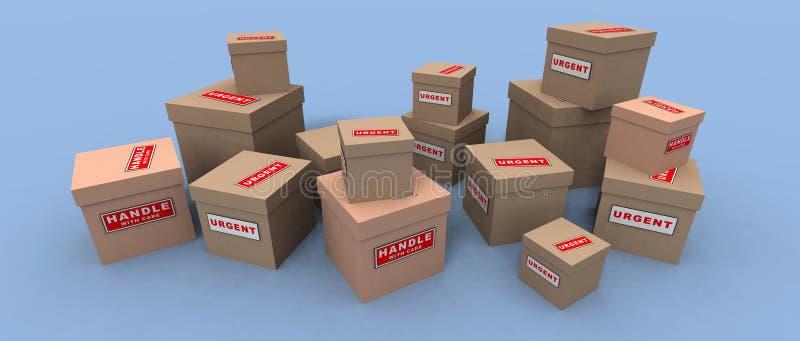 утлые пакеты срочные Стоковая Фотография RF