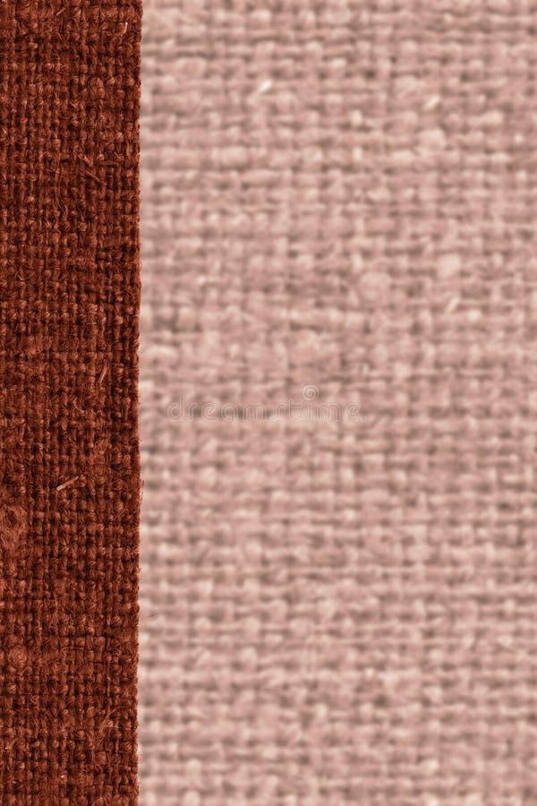 Уток ткани, заплата ткани, холст ржавчины, материал дерюги, естественная предпосылка стоковое фото rf