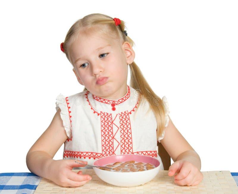 утомлянная еда стоковые изображения rf