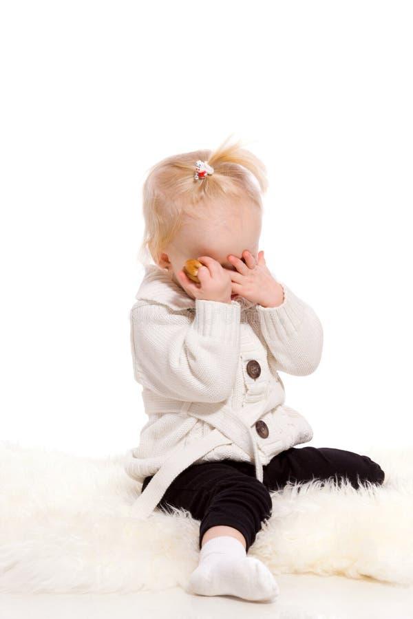 утомлянный ребенок стоковое фото rf